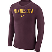 Nike Men's Minnesota Golden Gophers Maroon Marled Dri-FIT Long Sleeve Shirt