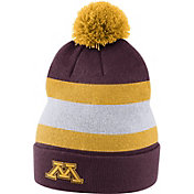 Nike Men's Minnesota Golden Gophers Maroon Football Sideline Beanie