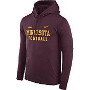 Nike Men's Minnesota Golden Gophers Maroon Football Sideline Therma-FIT Hoodie