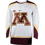 Nike Men's Minnesota Golden Gophers White Replica Hockey Jersey