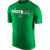 Nike Men's Marshall Thundering Herd Green FootbALL Sideline Legend T-Shirt