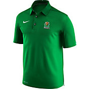 Nike Men's Marshall Thundering Herd Green Elite Football Sideline Polo