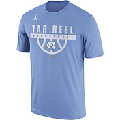 Jordan Men's North Carolina Tar Heels Carolina Blue ELITE Basketball Legend T-Shirt