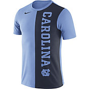 Nike Men's North Carolina Tar Heels Carolina Blue/Navy Coin Flip T-Shirt