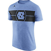 Jordan Men's North Carolina Tar Heels Carolina Blue Logo Basketball T-Shirt