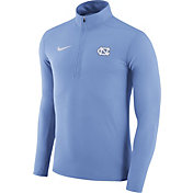 Nike Men's North Carolina Tar Heels Carolina Blue Element Performance Quarter-Zip