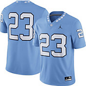 Jordan Men's North Carolina Tar Heels #23 Blue Game Football Jersey