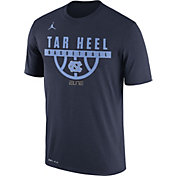 Jordan Men's North Carolina Tar Heels Navy ELITE Basketball Legend T-Shirt