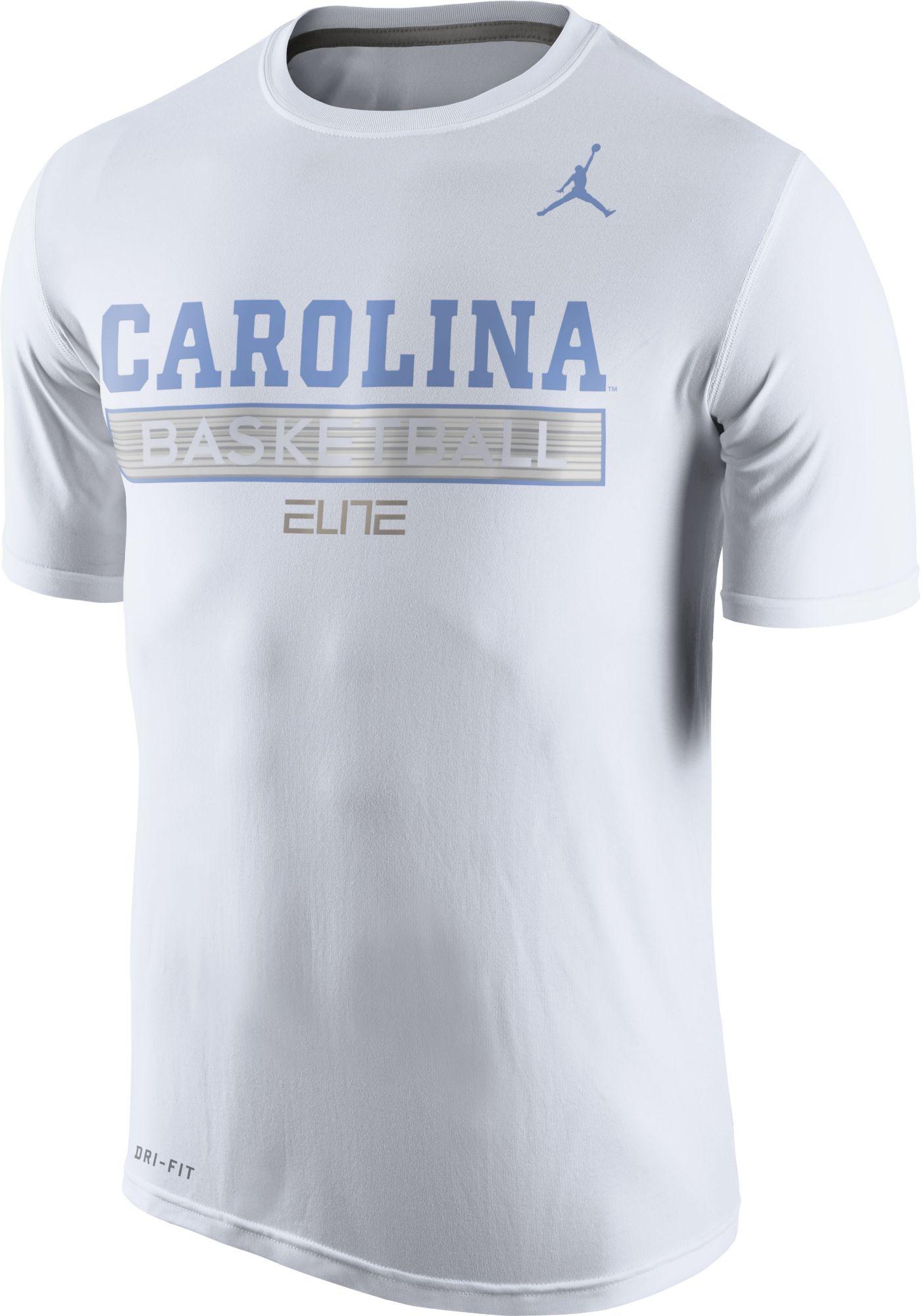 9b80dd92fc3 ... Product Image · Jordan Mens North Carolina Tar Heels ELITE Basketball  Practice White T-Shirt Nike North Carolina Tar Heels 23 Michael ...