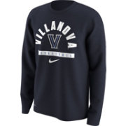Nike Men's Villanova Wildcats Navy Basketball Logo Long Sleeve Shirt