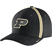 Nike Men's Purdue Boilermakers Black AeroBill Football Sideline Coaches Classic99 Hat