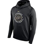 Nike Men's Purdue Boilermakers Black Circuit Basketball Hoodie