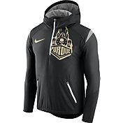 Nike Men's Purdue Boilermakers Black Fly Rush Football Jacket