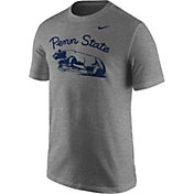 Nike Men's Penn State Nittany Lions Grey Throwback T-Shirt