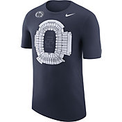 Nike Men's Penn State Nittany Lions Blue Local Imagery Football Stadium T-Shirt
