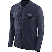 Nike Men's Penn State Nittany Lions Blue Elite Hybrid Football Full-Zip Jacket