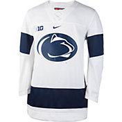 Nike Men's Penn State Nittany Lions White Replica Hockey Jersey