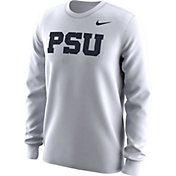 Nike Men's Penn State Nittany Lions White Alt Logo Football Long Sleeve Shirt