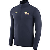 Nike Men's Pitt Panthers Blue Element Performance Quarter-Zip