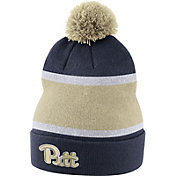 Nike Men's Pitt Panthers Blue Football Sideline Beanie