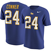 Nike Men's Pitt Panthers James Conner #24 Blue College Alumni T-Shirt