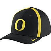 Nike Men's Oregon Ducks Black Aerobill Swoosh Flex Classic99 Football Sideline Hat