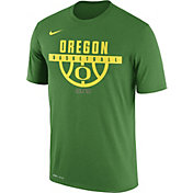 Nike Men's Oregon Ducks Apple Green ELITE Basketball Legend T-Shirt
