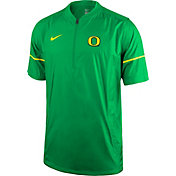 Nike Men's Oregon Ducks Apple Green Football Sideline Hot Jacket