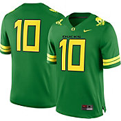 Nike Men's Oregon Ducks #10 Green Game Football Jersey