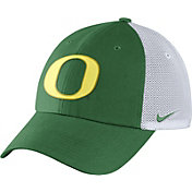 Nike Men's Oregon Ducks Apple Green/White Heritage86 Performance Trucker Hat