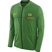 Nike Men's Oregon Ducks Apple Green Elite Hybrid Football Full-Zip Jacket