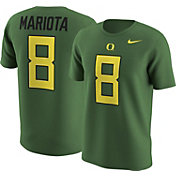 Nike Men's Oregon Ducks Marcus Mariota #8 Green College Alumni T-Shirt