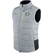 Nike Men's Oregon Ducks Football Sideline Grey/Black Vest