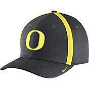 Nike Men's Oregon Ducks Anthracite AeroBill Football Sideline Coaches Classic99 Hat