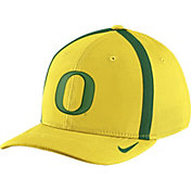 Nike Men's Oregon Ducks Yellow Aerobill Swoosh Flex Classic99 Football Sideline Hat
