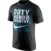 Nike Men's Army West Point Black Knights Army Black Dri-FIT Legend Franchise T-Shirt