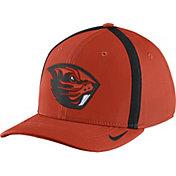 Nike Men's Oregon State Beavers Orange Aerobill Swoosh Flex Classic99 Football Sideline Hat