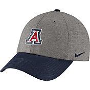 Nike Men's Arizona Wildcats Grey/Navy Heritage86 Heather Adjustable Hat