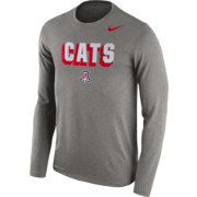 Nike Men's Arizona Wildcats Grey Dri-FIT Franchise Long Sleeve T-Shirt