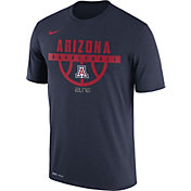 Nike Men's Arizona Wildcats Navy ELITE Basketball Legend T-Shirt