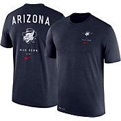 Nike Men's Arizona Wildcats Navy Dri-Blend Vault Logo T-Shirt