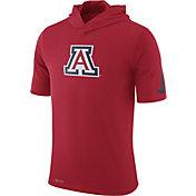 Nike Men's Arizona Wildcats Cardinal Basketball Hoodie Performance T-Shirt