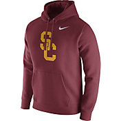Nike Men's USC Trojans Cardinal Club Fleece Hoodie