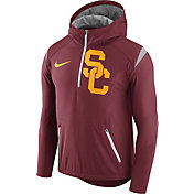 Nike Men's USC Trojans Cardinal Fly Rush Football Jacket