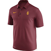 Nike Men's USC Trojans Cardinal Elite Football Sideline Polo