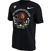 Nike Men's USC Trojans 2017 Goodyear Cotton Bowl Classic Bound Illustrated Helmet T-Shirt