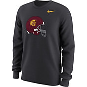 Nike Men's USC Trojans Anthracite Alt Logo Football Long Sleeve Shirt