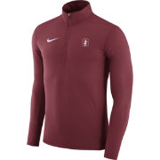 Nike Men's Stanford Cardinal Element Cardinal Performance Quarter-Zip
