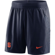 Nike Men's Syracuse Orange Blue Fly Knit Football Shorts