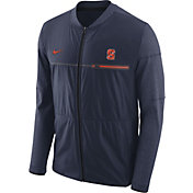 Nike Men's Syracuse Orange Blue Elite Hybrid Football Full-Zip Jacket